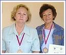 Margita Polláková a Zuzana Homoliaková, úspešné seniorky z Revúcej