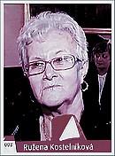 Ružena Kostelníková, strieborný Senior roka 2008
